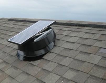 & Solar Attic Fan. HNSF Solar Attic Exhaust Fan 20 Watt Panel - HNSF20W