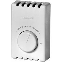 Honeywell Line Volt Thermostat For Electric Heaters - T410B1004 Double Pole Thermostat