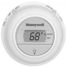 Honeywell Thermostat - Heat and Cooling - Premier White - Digital - 24 volts - T8775C1005