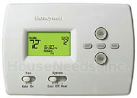 Honeywell Thermostat TH4110D1007 - Pro 4000 Programmable - 24 volts Hydronic Radiant Floor Heat Applications - Low oltage Thermostats - Digital Thermostats
