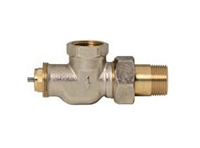 Honeywell Thermostatic Valve - 3/4 inch Angle Female NPT Inlet - Male NPT Outlet - V2040ASL20