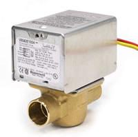 Buy Honeywell Zone Valve with 1/2 inch and 24 volt With Lead Wires - V8043E1004. Used for Hydronic Heating Systems. Replacement Motors.
