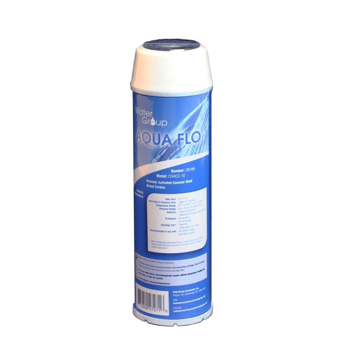 Aqua Flo Water Filter Coconut Granular Activated Carbon