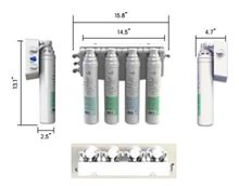 Pura Quick Change Reverse Osmosis Residential Drinking Water System Dimensions