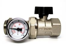 HousePEX NPT Ball Valve/Thermometer 1 inch - 87219AV0612 - 219 and comes with our HousePEX Manifolds