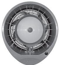 Joape Misting Fan - Wall Mount - 21188 CFM - 110/220V - Color Grey - HURRICANE WALL MOUNT