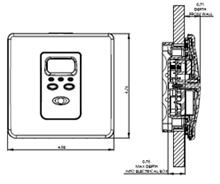 Kidde Carbon Monoxide Alarm Hard Wired KN-COPF-i - 900-0232 21007426 Diagram