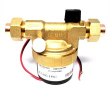 Laing Solar Pump Ecocirc Series Bronze circulator 1/2 inch Sweat w/built-in Ball, Union, Bleeder and check valve - D5 Solar 720 B - LMB15107995