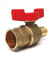Legend Pex End Ball Valve - 1/2 inch Pex by 1/2 inch Sweat Connections - T-805 - 101-583