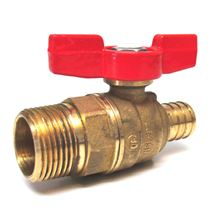 Legend Pex End Ball Valve - 1/2 inch Pex by 1/2 inch MIP Connections - Lead Free - T-805 - 101-580NL