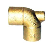 Legend Baseboard Tees 302-254 I Inch Brass with 1/8 inch FIP for Coin Vent