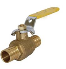 Legend Pex End Ball Valve - Forged Brass - Gland Follower Design - 1 inch Pex by 1 inch Pex Connections - T-2006 - 101-595