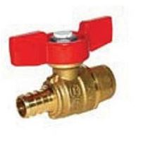 Legend Pex End Ball Valve - 3/4 inch Pex by 3/4 inch Sweat Connections - T-805 - 101-584