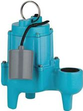 Little Giant Submersible Wastewater Sewage Pumps with 4/10 HP and 110 GPM - 9SN-CIA-RF - 509204