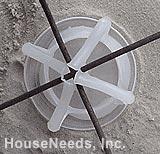Buy PEX Radiant Heat Lotel Mesh-Ups - 2 inch - 250 per box - PLASTIC SPRINGS
