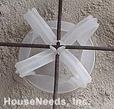 Buy PEX Radiant Heat Lotel Mesh-Ups - 3 inch - 250 per box - WIRE SHOULD BE STRAIGHT
