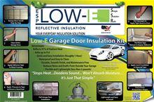 Low-e Simple Solution Garage Door Kit - Foil/Foam/Foil One Car Garage - SSR-1GDKFW