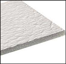 Low-E White Foil Poly Foam White Foil Insulation 1/4 thick X 125 feet long X 4 feet wide - 4EFWS/E40CS.