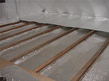 Low-e Simple Solution Roll - 24 inches by 50 Feet Foil/Foil - 100 Square Feet - SSR-2450FF a roof and celing