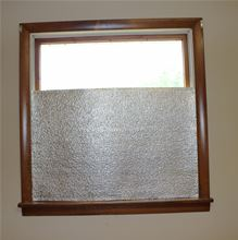 Low-e Simple Solution Roll - 24 inches by 50 Feet Foil/Foil - 100 Square Feet - SSR-2450FF a window