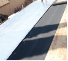 Therma-Sheet Roofing Underlayment with 4 inch Roofing Flange 1/8 inch by 4 feet by 125 feet - 4LMPX Installation