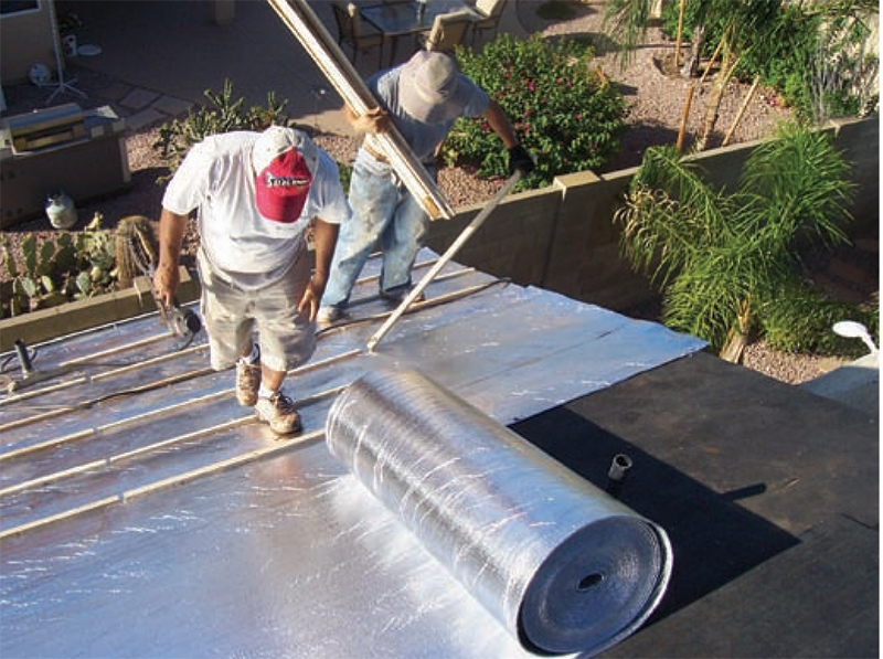 Therma Sheet Roofing Underlayment With 4 Inch Roofing