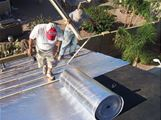 Therma-Sheet Roofing Underlayment with 4 inch Roofing Flange - 1/8 inch by 4 feet by 125 feet - 4LMPX