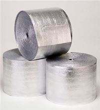 Foil Poly Foam Foil Insulation with staple tabs 2 rolls, 1/4 inch thick X 125 feet long X 24 inches wide - 24EFEC/LS240