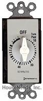 Qmark Five Minute Timer for Whole House or Bath Fans - 1010A