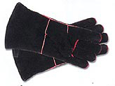 Minuteman Large Hearth Gloves Black - A-13B