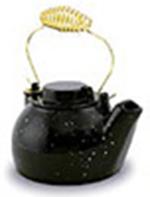 Minuteman 2.5 Quart Porcelain Enamel Humidifying Kettle Black - T16-BK
