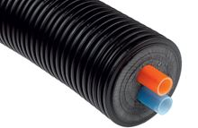 Mr. Pex Pre-Insulated PEX-A Barrier Tubing 5.5 inches Outer Jacket 1 Inch PEX - Double Line Per Foot - Must order a Minimum of 50 Feet - 1520032
