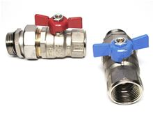 Mr. Pex Manifold Ball Valve Set 1 inch NPT - 135 - 3620008