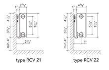 myson hydronic baseboard heater rcv22 600 that replaces - Hydronic Baseboard Heaters