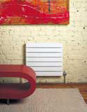 Myson 3H11120-VN Decor Hydronic Radiator installed on a wall
