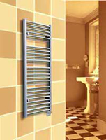 Myson EECOSH86 Classic Comfort White Electric Towel Warmer (picture is not of a white radiator) with 200 Watts of power