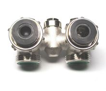 Myson T6 IVC Series Twin Entry Bypass HV-A Valve that connects to T-6 Radiator