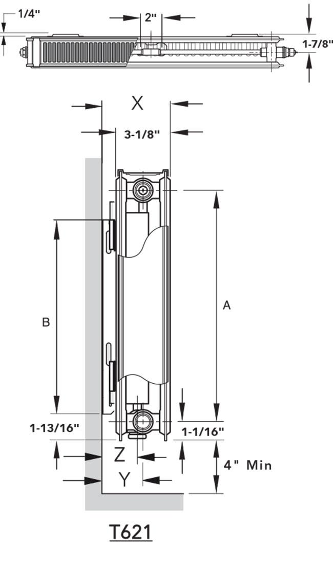 Myson Tk2 3 06 Radiator Myson T6 Ivc Tk2 3 06 Hydronic