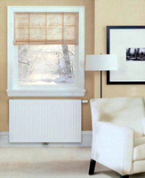 European T6 IVC T622-4-06 Hydronic Radiator installed in a living room