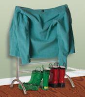 Myson Electric Towel Warmer - Gem Series - Floor Mount - Color Bright Stainless Steel - 150 Watts - FPRL08