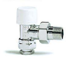 Myson 1/2 inch Thermostatic Radiator Valve - Standard Vertical Angle Body Only - 2TRV1/2AN