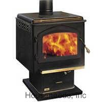 Napoleon Deluxe Wood Stove Large Model 1900K