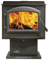 Napoleon Deluxe Small Woodstove with Pedestal 1100P