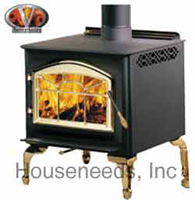 Napoleon Deluxe Medium Wood Stove 1400PL