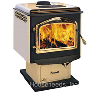 Napoleon Deluxe Wood Stove Large Model 1900S
