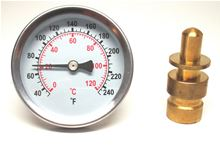Buy Analog Temperature Gauge with 3/4 inch Male Sweat Well - J40-702