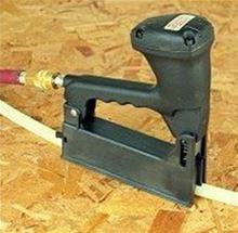Peter Mangone PEX Tubing Pneumatic Clip Gun RB6. PEX Tube Radiant Heating Supply RB 6
