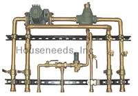 Precision Hydronics Primary Boiler Module - with Grundfos System Pump and Indirect Pump - Up to 80,000 BTU - PHP-TKI-1000G