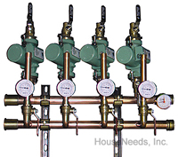 Precision Hydronics Secondary Loop Components 1 Zone Pumping Component with Taco Pump Sweat connections - PHP-PMPCM-1TSW