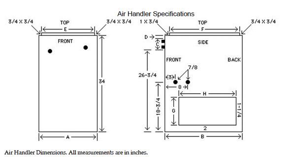 Pmp Air Handler Ah 115 Air Handler Precision Metal